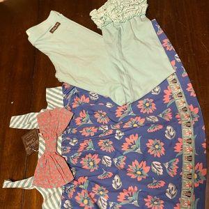 NWT Matilda Jane top/leggings